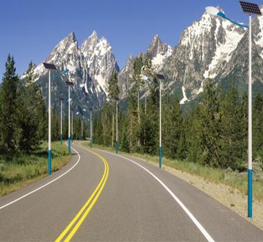 太阳能路灯户用光伏发电站
